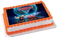 CARS 5 Edible Birthday Cake Topper OR Cupcake Topper, Decor