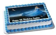 Cinderella 2 Edible Birthday Cake Topper OR Cupcake Topper, Decor