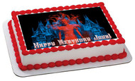 Crimson Peak Edible Birthday Cake Topper OR Cupcake Topper, Decor