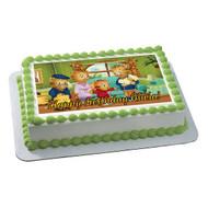 Daniel Tigger Edible Birthday Cake Topper OR Cupcake Topper, Decor