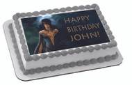 DRAGON INQUISITION Edible Birthday Cake Topper OR Cupcake Topper, Decor