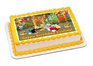 El Chavo 2 Edible Birthday Cake Topper OR Cupcake Topper, Decor