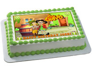 El Chavo del Ocho Edible Birthday Cake Topper OR Cupcake Topper, Decor