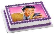 Elvis Presley Edible Birthday Cake Topper OR Cupcake Topper, Decor