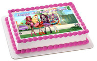 Ever After High 1 Edible Birthday Cake Topper OR Cupcake Topper, Decor