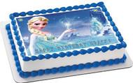 FROZEN 1 Edible Birthday Cake Topper OR Cupcake Topper, Decor
