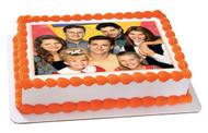 Full House Edible Birthday Cake Topper OR Cupcake Topper, Decor