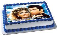 Grease Edible Birthday Cake Topper OR Cupcake Topper, Decor