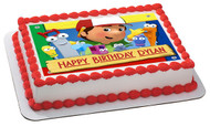 Handy Manny Edible Birthday Cake Topper OR Cupcake Topper, Decor