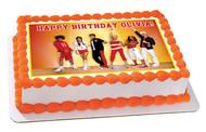HIGH SCHOOL MUSICAL Edible Birthday Cake Topper OR Cupcake Topper, Decor