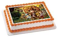 Lego Indiana Jones Edible Birthday Cake Topper OR Cupcake Topper, Decor