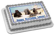 Lego Darth Maul Edible Birthday Cake Topper OR Cupcake Topper, Decor