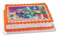 Lego Duplo Ariel Edible Birthday Cake Topper OR Cupcake Topper, Decor