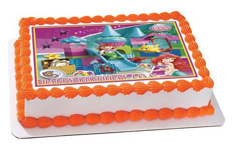 Lego Duplo Ariel Edible Birthday Cake Topper