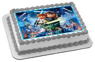 Lego Star Wars 1 Edible Birthday Cake Topper OR Cupcake Topper, Decor