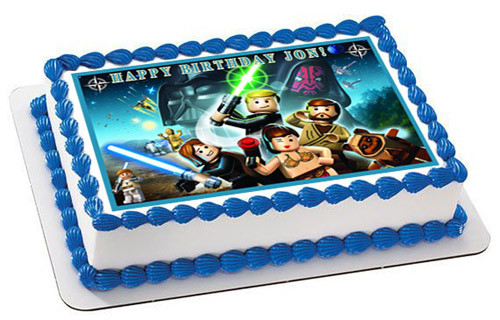 Miraculous Lego Star Wars 6 Edible Birthday Cake Topper Funny Birthday Cards Online Sheoxdamsfinfo