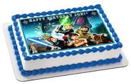 Lego Star Wars 6 Edible Birthday Cake Topper OR Cupcake Topper, Decor