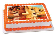 Lion King Kiara Edible Birthday Cake Topper OR Cupcake Topper, Decor