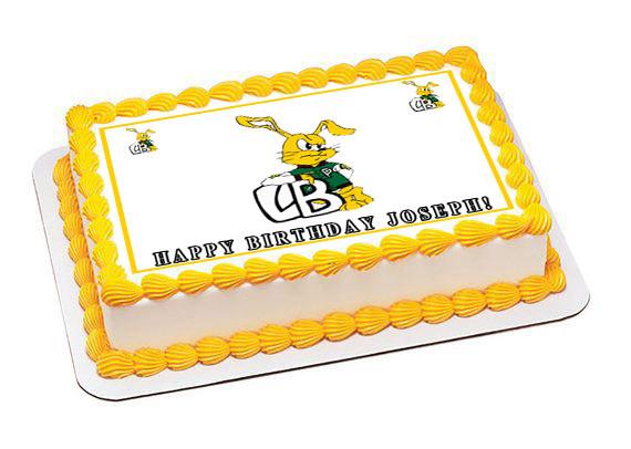 Long Beach Poly Edible Birthday Cake Topper