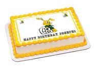 Long Beach Poly Edible Birthday Cake Topper OR Cupcake Topper, Decor