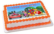 Mickey Mouse Clubhouse - Edible Cake Topper OR Cupcake Topper, Decor