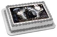 Naruto Japanese Edible Birthday Cake Topper OR Cupcake Topper, Decor