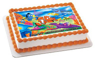 NEMO 1 Edible Birthday Cake Topper OR Cupcake Topper, Decor