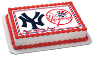 New York Yankees (Nr2) - Edible Cake Topper OR Cupcake Topper