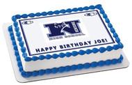 Newsome High School Time Edible Birthday Cake Topper OR Cupcake Topper, Decor