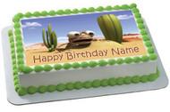 Oscar Oasis Edible Birthday Cake Topper OR Cupcake Topper, Decor