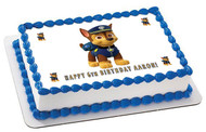 Paw Patrol - Edible Cake Topper OR Cupcake Topper, Decor