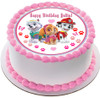 "Edible Cake Topper - 10"" round Edible Cake Topper - 7.5"" round Edible Cake Topper - 6"" round"