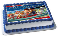 Paw Patrol HERO Edible Birthday Cake Topper OR Cupcake Topper, Decor