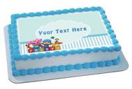 Pocoyo  Edible Birthday Cake Topper OR Cupcake Topper, Decor