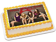 Pretty Little Liars Edible Birthday Cake Topper OR Cupcake Topper, Decor