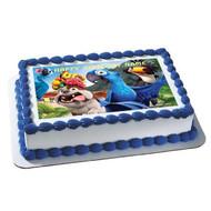Rio Edible Birthday Cake Topper OR Cupcake Topper, Decor