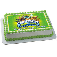 SKYLANDERS Edible Birthday Cake Topper OR Cupcake Topper, Decor