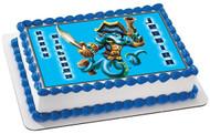 Skylanders Swap Force 1  Edible Birthday Cake Topper OR Cupcake Topper, Decor