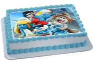 Smurfs 2 / 1  Edible Birthday Cake Topper OR Cupcake Topper, Decor