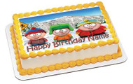 South Park 1 Edible Birthday Cake Topper OR Cupcake Topper, Decor