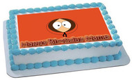South Park 2 Edible Birthday Cake Topper OR Cupcake Topper, Decor