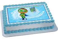Super Why 1 Edible Birthday Cake Topper OR Cupcake Topper, Decor