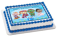 Super Why 2 Edible Birthday Cake Topper OR Cupcake Topper, Decor