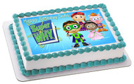 Super Why (Nr3) - Edible Cake Topper OR Cupcake Topper, Decor