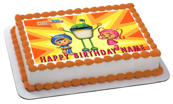 Team Umizoomi 1 Edible Birthday Cake Topper