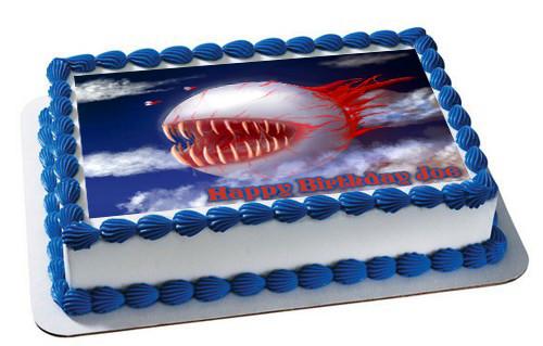 Terraria 2 Edible Birthday Cake Topper