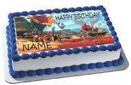 The Croods Edible Birthday Cake Topper OR Cupcake Topper, Decor