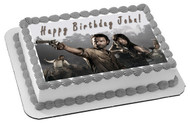The Walking Dead 1 Edible Birthday Cake Topper OR Cupcake Topper, Decor