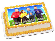 WIGGLES NEW Edible Birthday Cake Topper OR Cupcake Topper, Decor