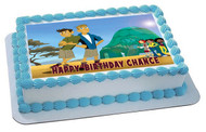 Wild Kratts Edible Birthday Cake Topper OR Cupcake Topper, Decor